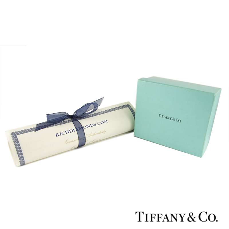 Tiffany & Co Diamond Palm Tree Earrings in Platinum